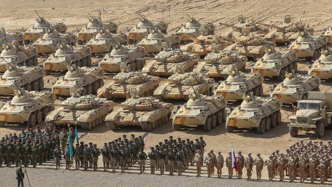 OVKS-Staaten beenden gemeinsame Anti-Terror-Großübung an afghanischer Grenze (VIDEO)
