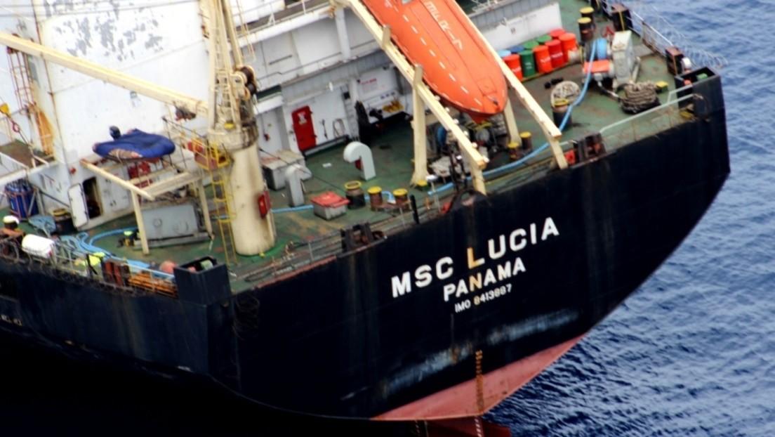 Russische Marine schützt Frachtschiff vor Piraten im Golf von Guinea