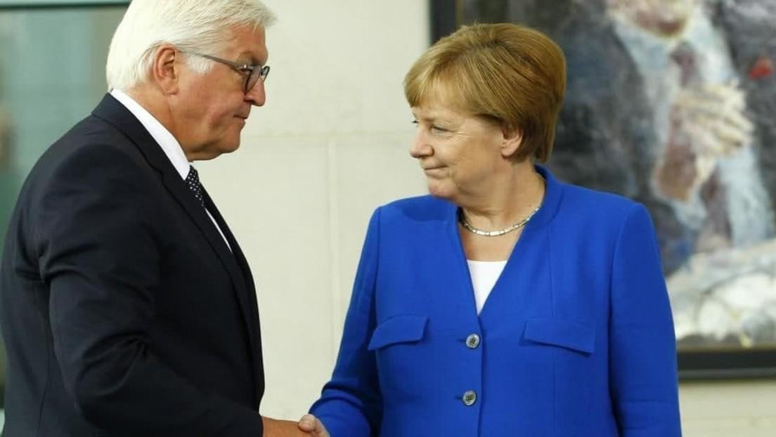 LIVE: Bundespräsident Steinmeier überreicht Merkel ihre Entlassungsurkunde