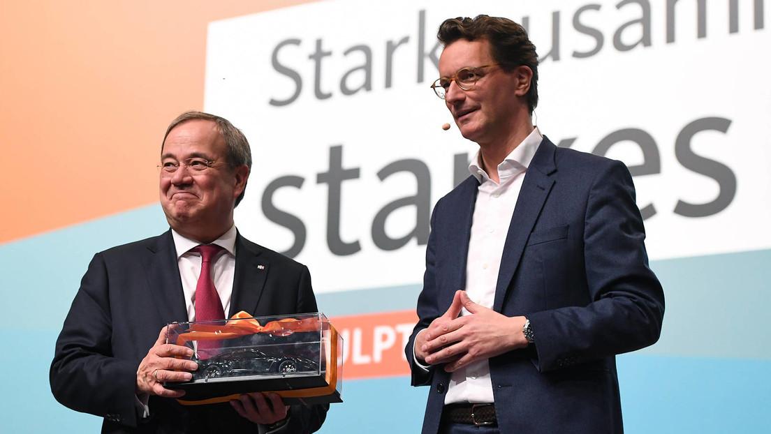 Hendrik Wüst zum Ministerpräsidenten von NRW gewählt