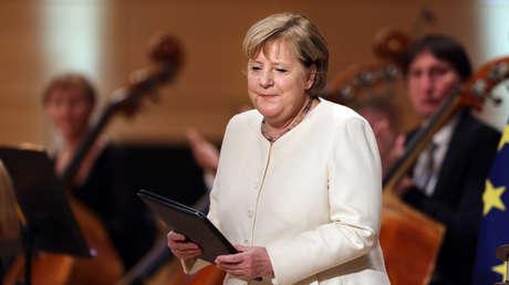"""Noch einmal Merkel – zum Tag der Einheit: """"Demokratie ist nicht einfach da"""""""
