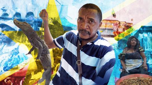 Червяки, крокодилы и кузнечики- праздничное меню в Африке. Серия 5
