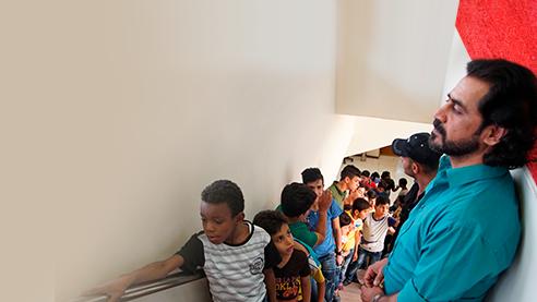 Дом спасённых детей мистера Хишама