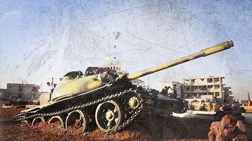 Дорога в Ракку