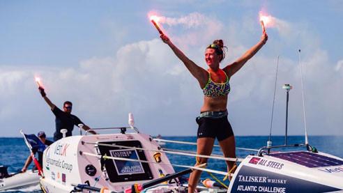 Как в одиночку пересечь Атлантику. 21-летняя британка — о своём рекорде