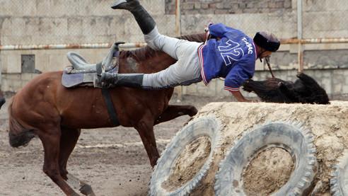 Кок Бору. Хоккей по-киргизски
