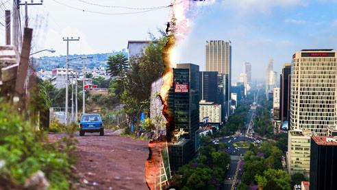 Мехико. Блеск и нищета на фоне пандемии COVID-19