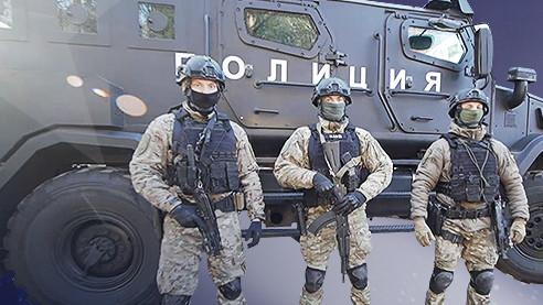 Отряд спецназначения. Как тренируются бойцы «Грома» (Полиция в городе. Серия 5)