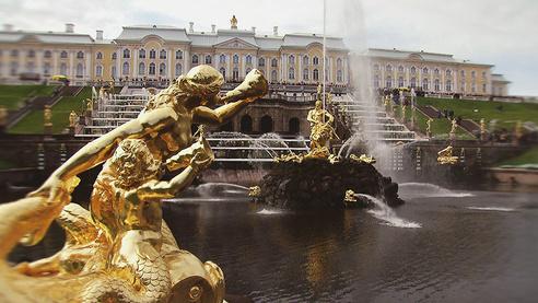 Петергоф - город фонтанов