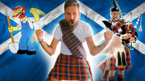 Шотландия: английский, похожий на русский