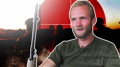 Сирия. История немецкого снайпера