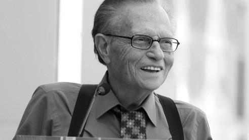 Скончался легендарный телеведущий Ларри Кинг