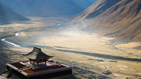 Дворцы в горах. Тибетские памятники архитектуры