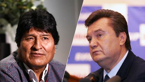 Украина, Боливия и двойные стандарты Запада