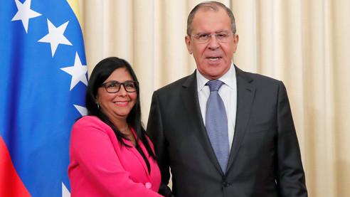 Вице-президент Венесуэлы о целях США в стране