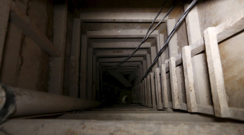 Prison break: New footage released of Mexican drug baron's escape tunnel (VIDEO)