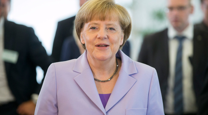Angela Merkel against gay marriage, in favor of union of 'man & woman'