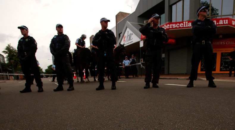 Shots fired, hostage freed in W. Australia 'man with explosives' siege