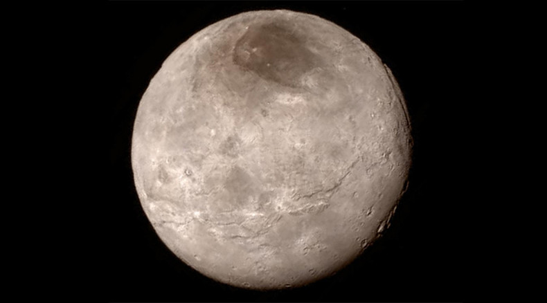 NASA finds own 'Mordor' at Pluto's moon Charon