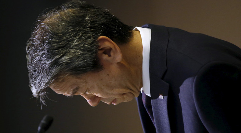 Toshiba CEO resigns over $1.2bn accounting scandal
