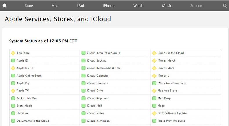 Apple bitten? iTunes, AppStore down (UPDATES)