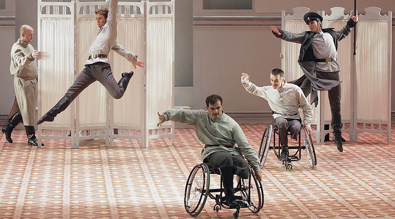 Wheelchair dancers add twist to innovative Bolshoi ballet