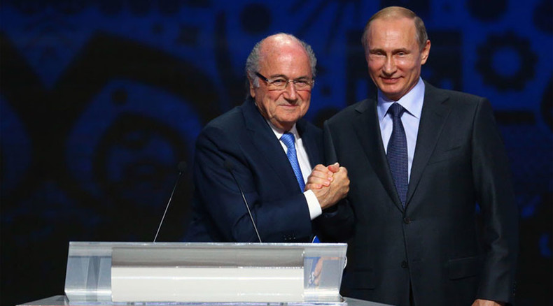 FIFA passes resolution assuring 'full support' of 2018 World Cup in Russia  - Blatter