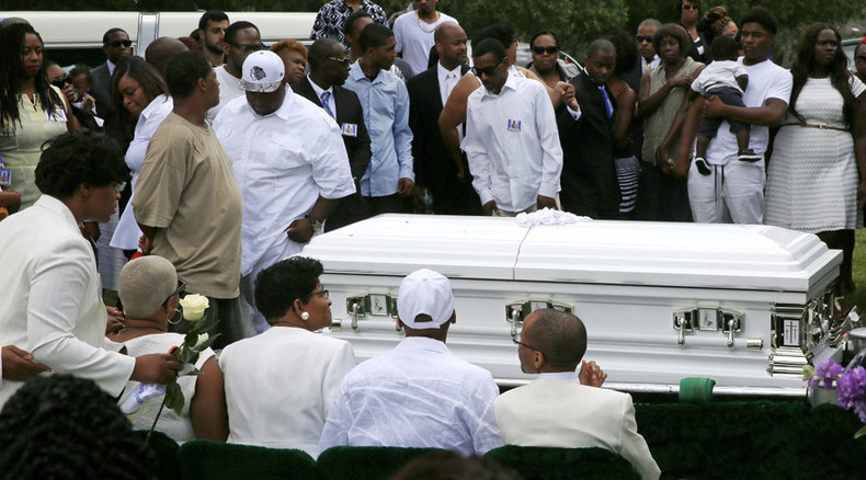 Sandra Bland laid to rest after suspicious 'suicide by hanging' in custody