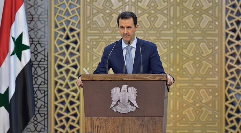 Talk of political solution to Syria crisis is 'hollow, meaningless' – President Assad