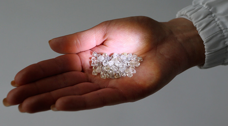 Unique diamonds discovered in frozen lava sample from Kamchatka