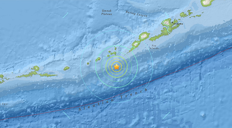 Magnitude 6.9 earthquake strikes off Alaska coast