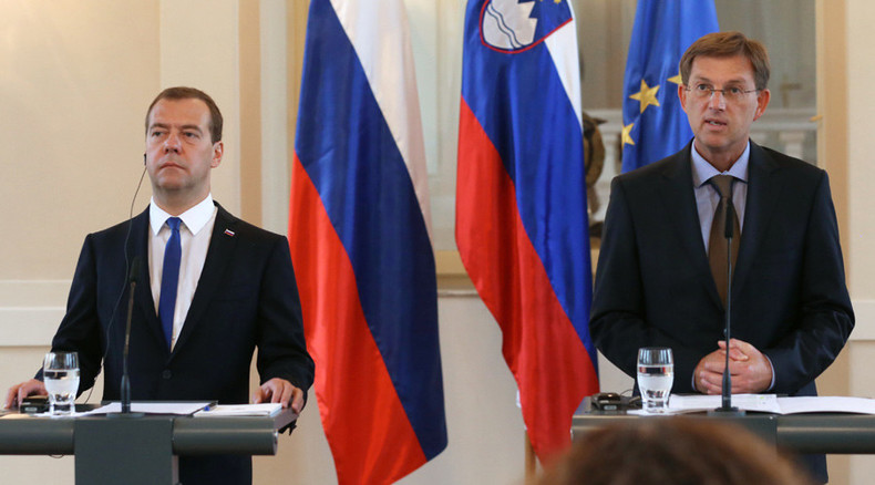 Slovenia may be part of Turkish Stream gas project – Medvedev