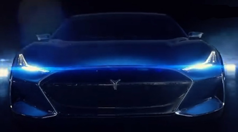 Knight Rider-inspired: 'Real life KITT' electric super sedan unveiled in China