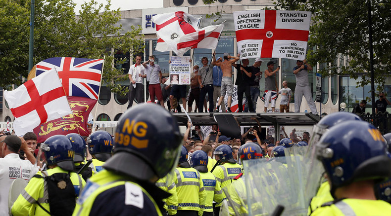 Far-right EDL to march in North East 'against immigration center closure'