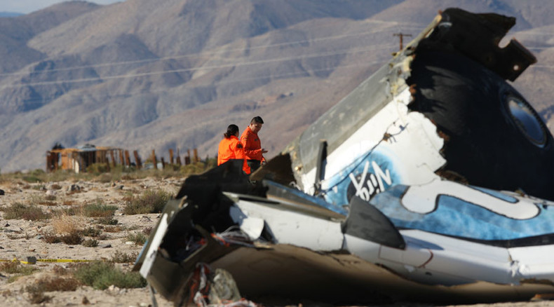 SpaceShipTwo co-pilot initiated error causing crash – NTSB