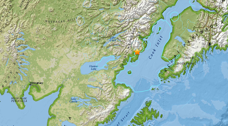 6.3 magnitude earthquake strikes Alaska near active volcano