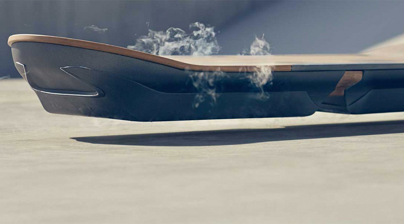 Lexus reveals more of 'Back to the Future' Hoverboard, release slated for August 5 (VIDEO)