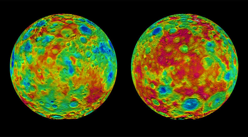 Dwarf planet Ceres' mysterious 'bright spots' mapped by NASA's Dawn probe