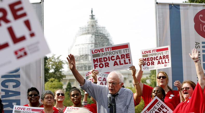 Medicare for all: Bernie Sanders calls for single-payer health system