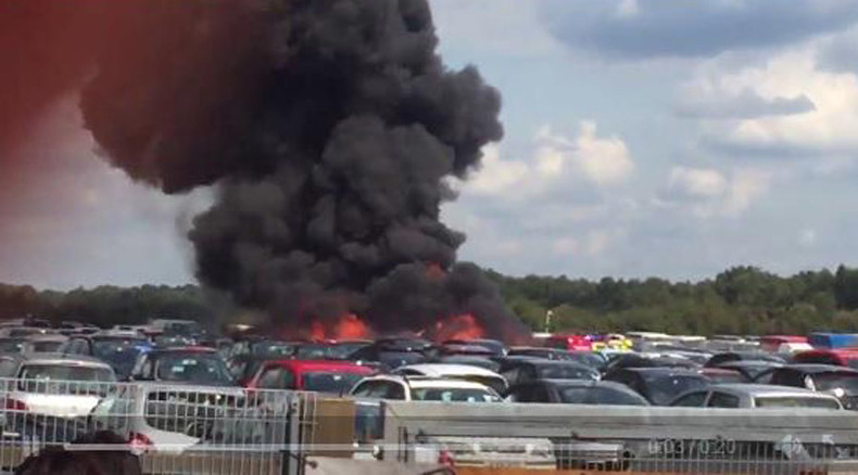 Bin Laden's stepmother, sister believed killed in small plane crash at Hampshire airport (VIDEO)