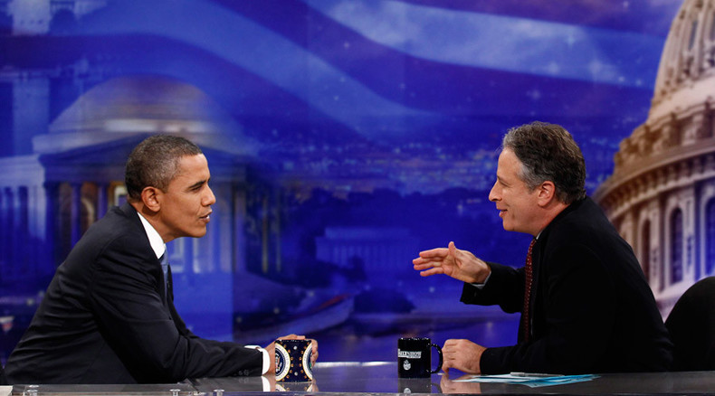 Exit stage left: Jon Stewart and the US political comedy