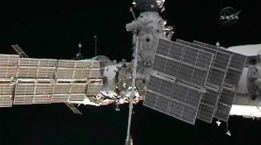 Flying space junk sees ISS crew take refuge in Soyuz craft