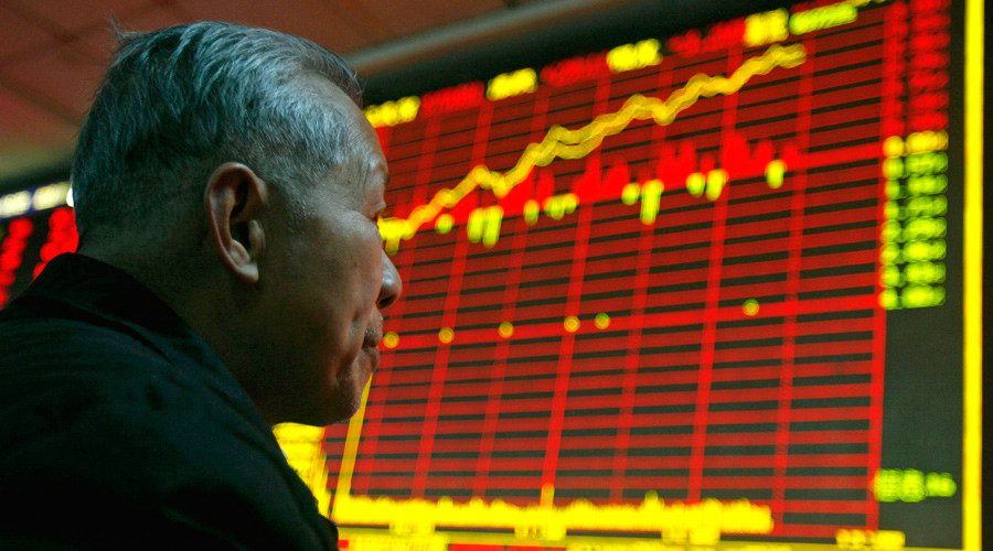 China's Shenzhen stock skyrockets, shows biggest growth since 2012