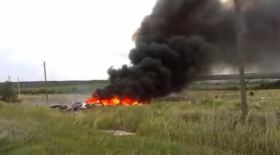 'Bodies all over': New MH17 crash site footage minutes after Boeing downing (VIDEO)