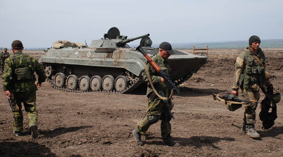 Donetsk militias complete lighter arms withdrawal from frontline with Kiev forces