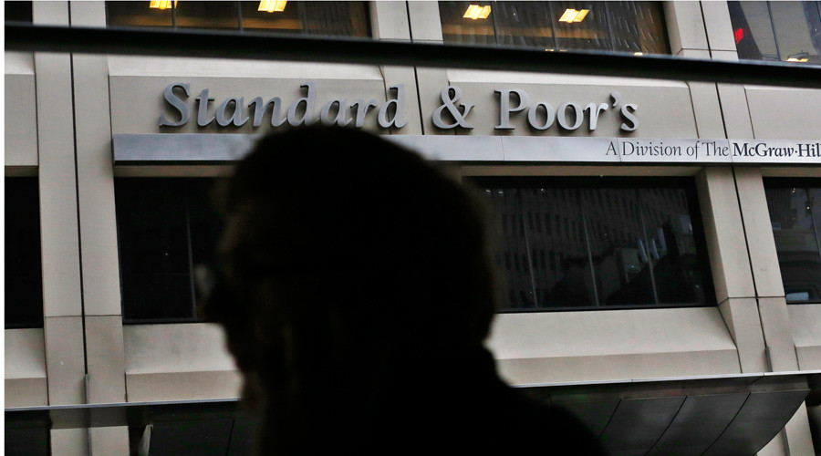 S&P raises Greek rating by 2 notches