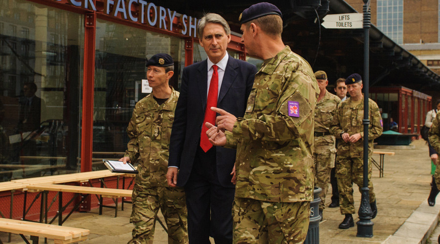'Cumbersome' democracy gets in the way of war with Russia & ISIS, says Hammond