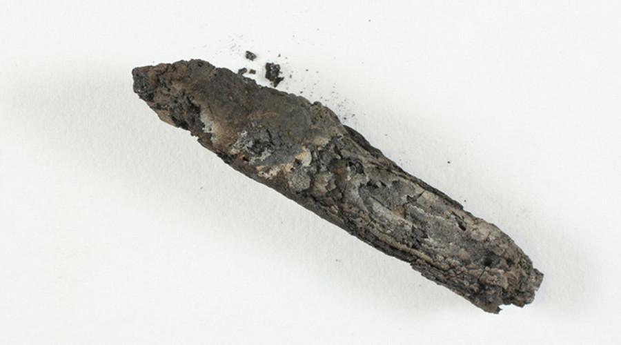 Israeli scientists 'digitally unwrap' 1,500-yo charred scroll, find biblical text