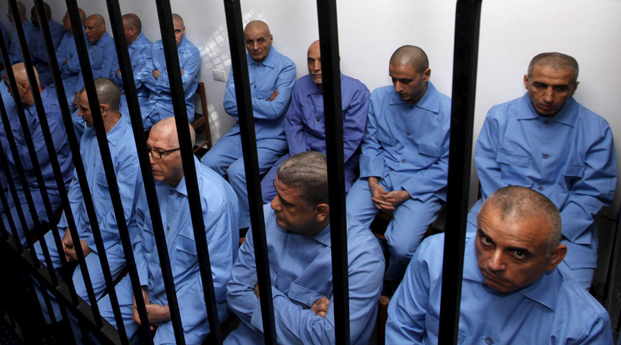 'Gaddafi officials sentenced to death interrogated without lawyers present' – Amnesty