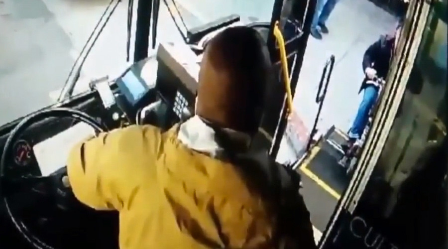 'You shouldn't even be on the bus!' SF bus driver won't let wheelchair-bound woman board (VIDEO)